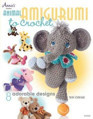 Animal Amigurumi to Crochet by Teri Crews Paperback NEW Book