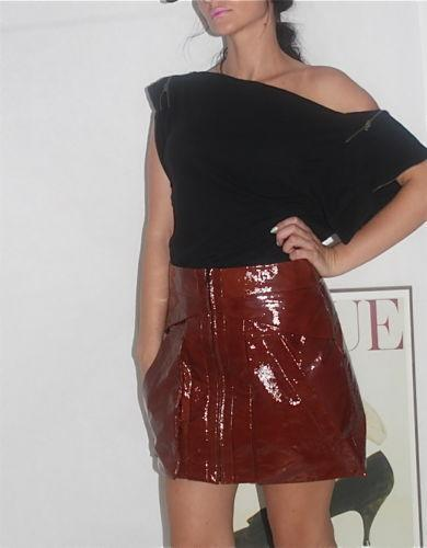 Patent Leather Skirt | eBay
