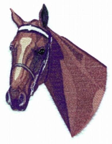 Embroidered Fleece Jacket - American Saddlebred Horse BT2475 S - XXL
