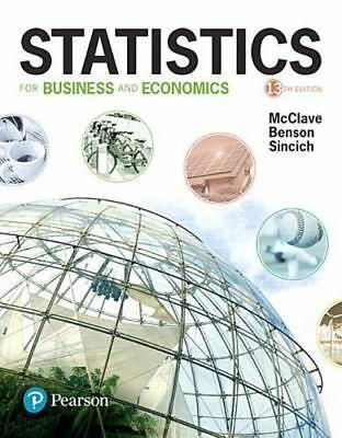 Statistics for Business and Economics 13th Global