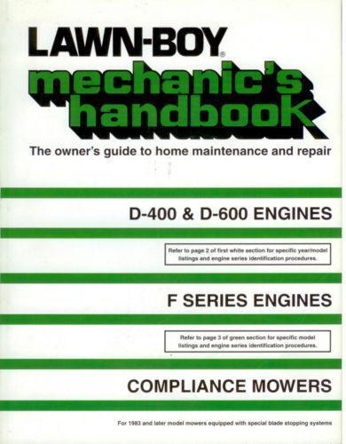 Lawn boy Service Manual free