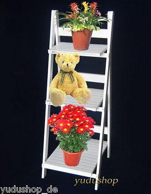 Blumentreppe Warenständer klappbar Regal Dekoleite