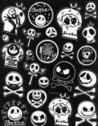 Nightmare Before Christmas Stickers