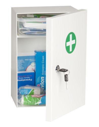 Lockable Medicine Cabinet Ebay