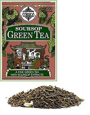 (Mlesna Soursop Green Loose Leaf Ceylon Tea 200g)