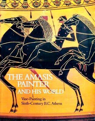 Athens Greece Amasis Painter 600BC Attic Black Figure VasesAmphorae Cups 362pix