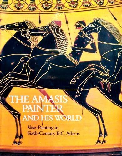 Greek Athens Amasis Painter  600BC Attic Black Figure Vases Amphorae Cups 362pix