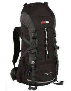 Black Wolf Mountain Ash 75L Hiking Rucksack Southbank Melbourne City Preview