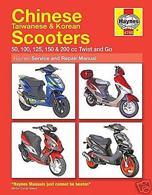 Scooter Manual Haynes: Sym DD50 Mio 50 100 Jet BasiX City Hopper 50 HQ4768