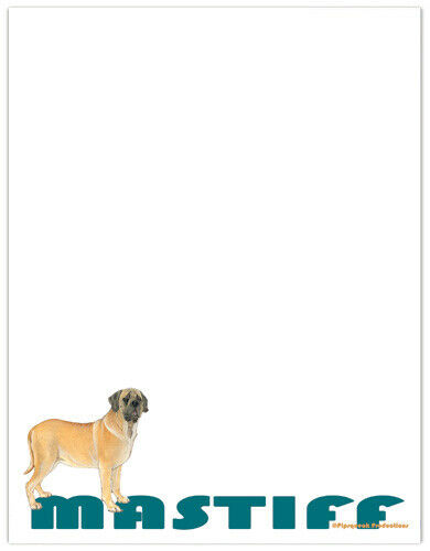 Mastiff Large Stationery Set