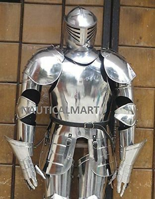 Knight Spartan Full Suit Of Armour Halloween Wearable Costume Reenactment - Spartan Suit