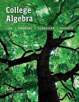 College Algebra  12Th Edition