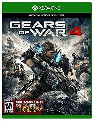 Gears of War 4 - Xbox One 2016 cool game edition Standard,