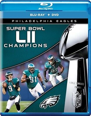 PREORDER MAR 6 PHILADELPHIA EAGLES SUPER BOWL LII 52 CHAMPIONS New Blu-ray + DVD