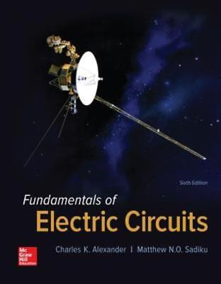 Fundamentals of Electric Circuits by P Alexander, Charles K, Professor: Used