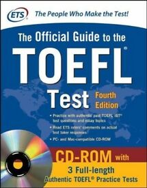 Official Guide TOEFL Test with CD-ROM, 4th Edition Book NEW