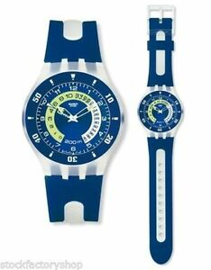 "Swiss Made Swatch Watch Mens Scuba Professional Diver 200m ""WHAL"