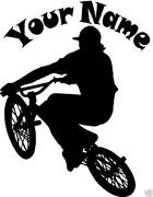 BMX Wall Stickers