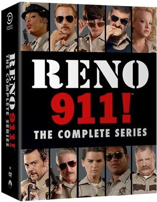 как выглядит DVD, HD DVD, Blu-ray диск Reno 911: The Complete Series DVD фото