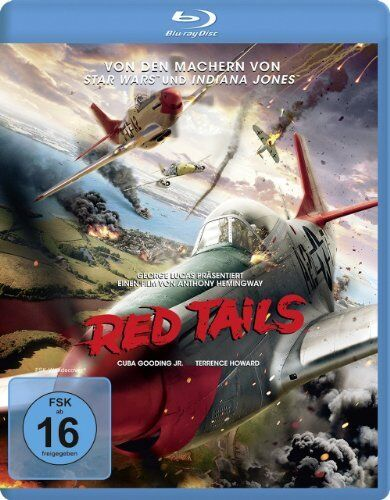 RED TAILS (Cuba Gooding Jr.) Blu-Ray Disc NEU + OVP!