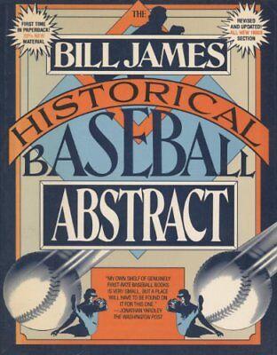 Bill James Historical Baseball Abstract by Bill James