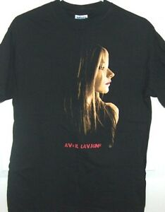 Avril Lavine 2005 North American Concert T Shirt