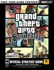 Grand Theft Auto: San Andreas Video Game Strategy Guides & Cheats