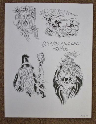 Vintage Tattoo Flash Ebay