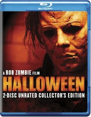 HALLOWEEN 2007 Remake New Sealed Blu-ray 2 Disc Unrated Collector's Edition - Halloween 2 Remake