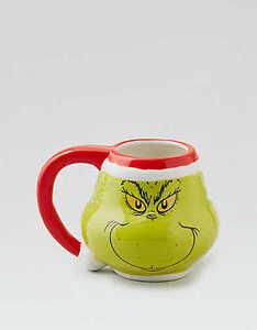 American Eagle Grinch mug