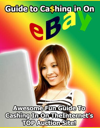Guide to Cashing in on eBay Ebook PDF & 5 Bonus Ebooks MRR Free Shipping