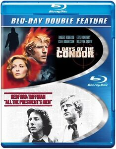 3 Days Of The Condor/All The Presidents Men (2013, Blu-ray NEW) BLU-