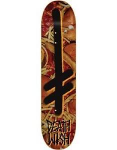 brand new deathwish gang logo slash deck