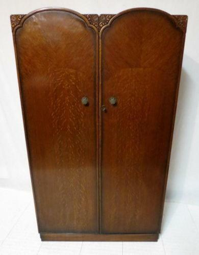 art deco armoire ebay. Black Bedroom Furniture Sets. Home Design Ideas