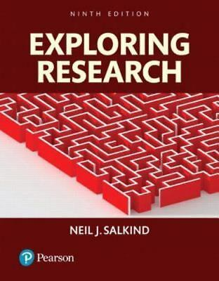 Exploring research 9e Global Edition