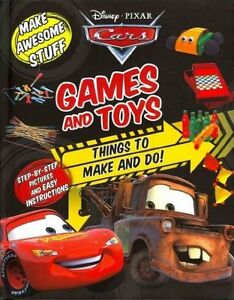 Brand New Disney Pixar CARS Games and Toys Things to Make & Do