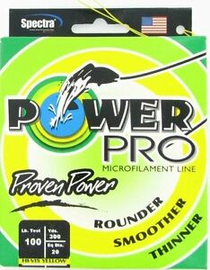 Power Pro braided fishing line 300 Yards spool