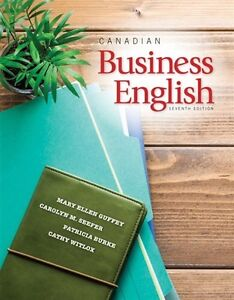 LOOKING FOR! Canadian Business English: W/Mindtap, 7th.