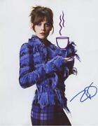 Zooey Deschanel Signed