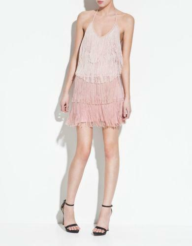 Zara Fringe Dress  8177d903d7