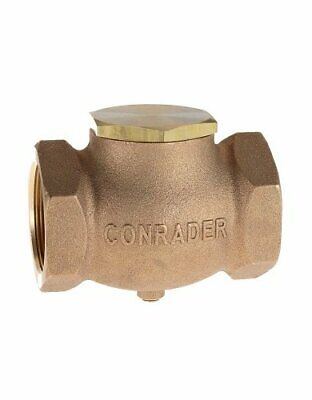 New 34 Cast Brass Horizontal Check Valve Air Compressor In Line Vertical