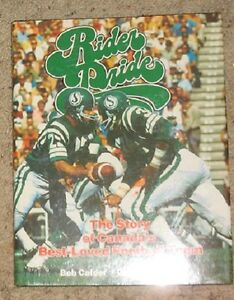 Rider Pride - Story of Canada;s Best-loved Football Team BOOK