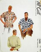 Mens Shirt Pattern