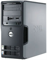 Dell dimension 3100 with pentuim 4 3ghz and 2 gig of ram,120 HDD