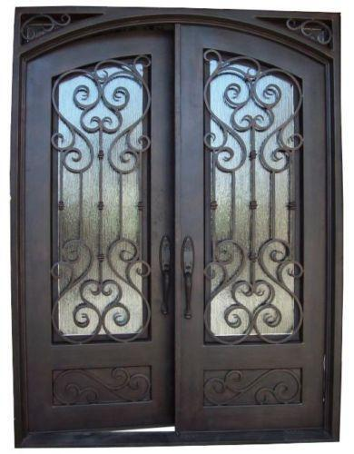 wrought iron front doorsWrought Iron Door  eBay