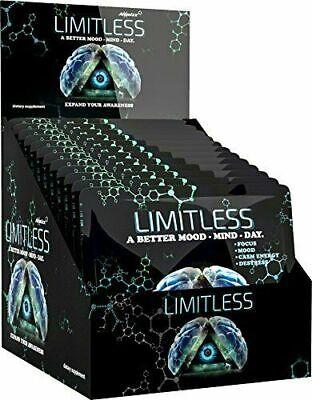 Limitless Pills 48 pills -12 Packs Atomixx Blend Mood Focus Anti Anxiety Stress