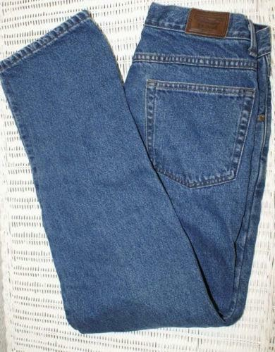 Ll bean flannel lined jeans ebay for Flannel shirt and jeans