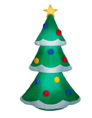 9 FT TALL --CHRISTMAS TREE-Gemmy Industries AIRBLOWN CHRISTMAS Inflatable ()