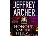 JEFFREY ARCHER HONOUR AMONG THIEVES Audio book CD NEW
