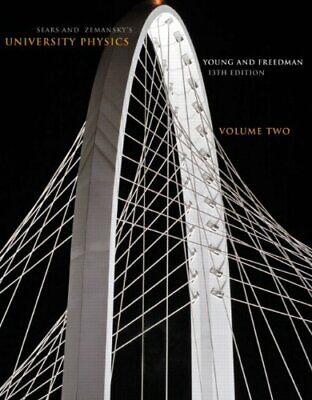 Sears and Zemansky's University Physics, Vol. 2, 13th Edition (University Physics 13th Edition)